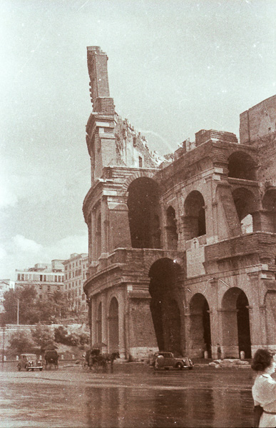 The Colosseum, Rome; 26 September 1956