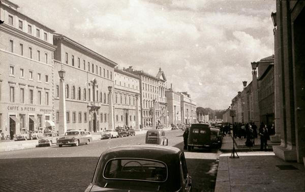 Via della Conciliazione, Rome; 26 September 1956