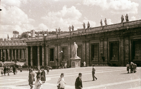 St Peter's Square, Vatican City; 26 September 1956