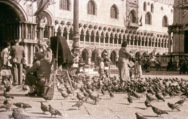 St Mark's Square (Pizza San Marco), Venice; 27 September 1956