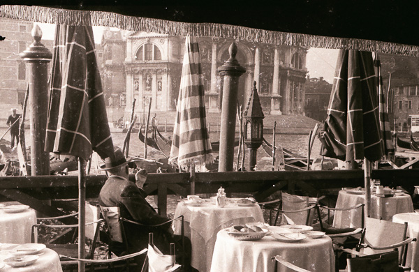 Dinner at the Hotel Regina, Venice; 27 September 1956