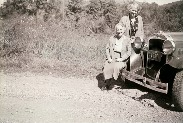 With the Spriggins and the Essex sedan, possibly 12 Sep 1937