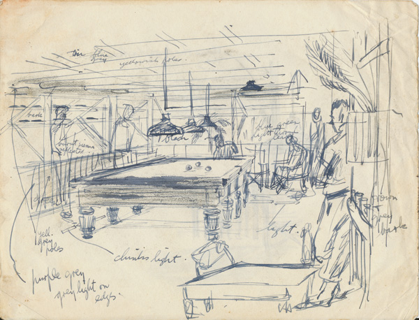 YMCA facilities, Darwin; 18 Aug 1943
