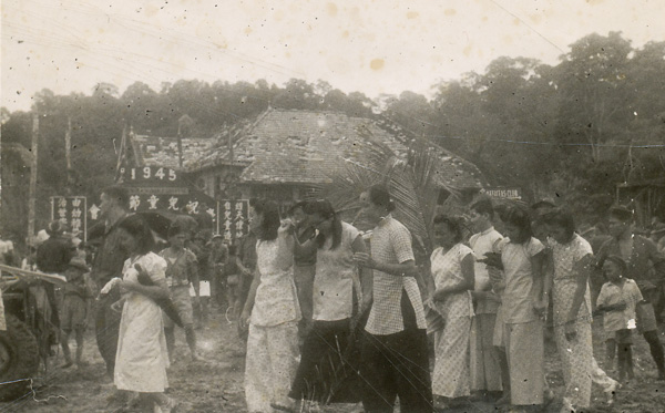 Scenes around Beaufort at the Children's Carnival held on August 8, 1945