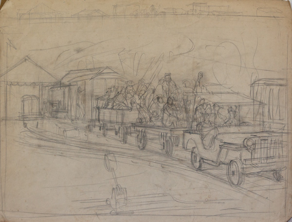 [Jeep train study, Borneo]