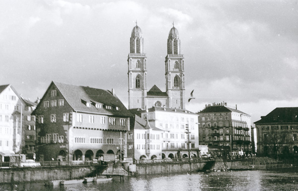 Great Minster Church, Zurich, Switzerland; 28 November 1956