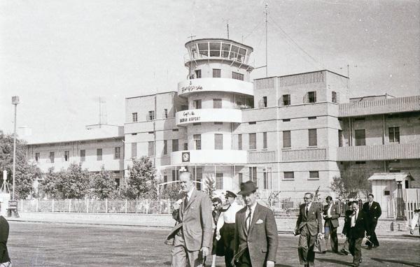Basrah Airport, Iraq; 29 November 1956