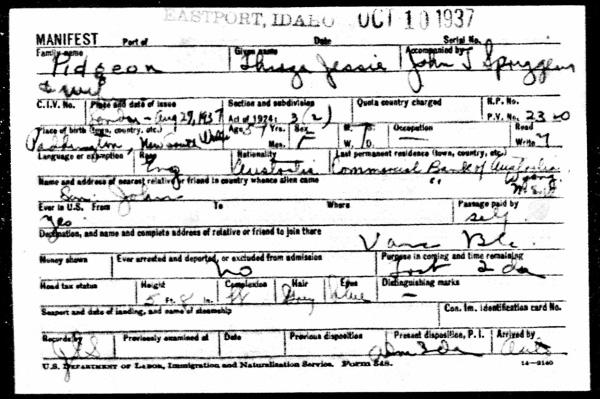 BorderCrossingsFromCanadatoU.S.1895-1956ForThirzaJessiePidgeon (1)