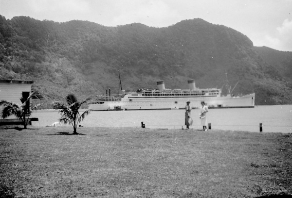 The Monterey at Suva, Fiji; 23 Nov 1937