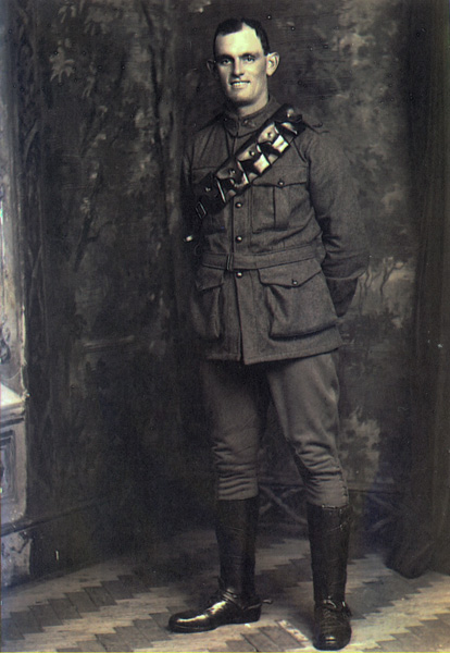Driver Percy Rowett White; killed at Amiens, France, 24 April 19