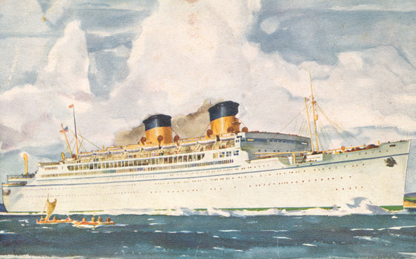 SS Monterey of the Matson Line