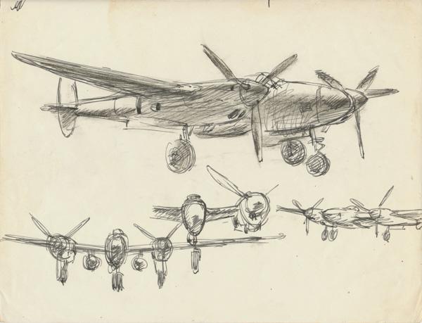 P38 Lightning, Morotai