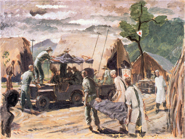 Advanced Dressing Station, Guy's Post, New Guinea