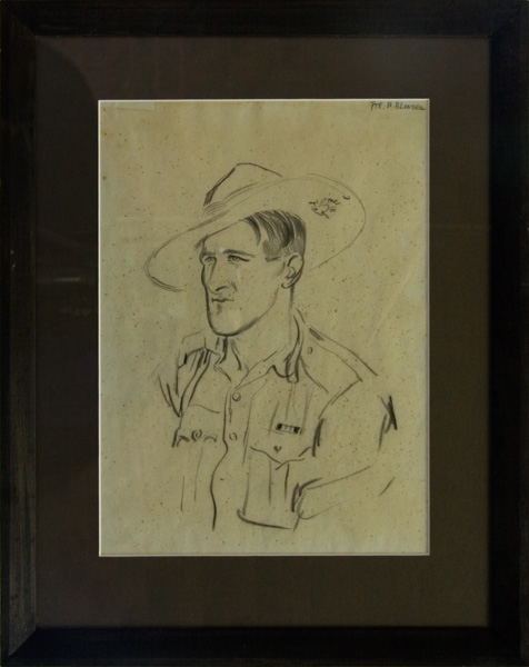 Pte. N. Blundell, MM