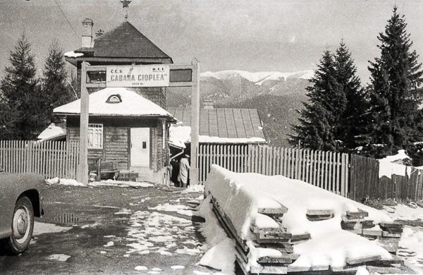 Cabana Cioplea, Predeal, Romania; 12 October 1956